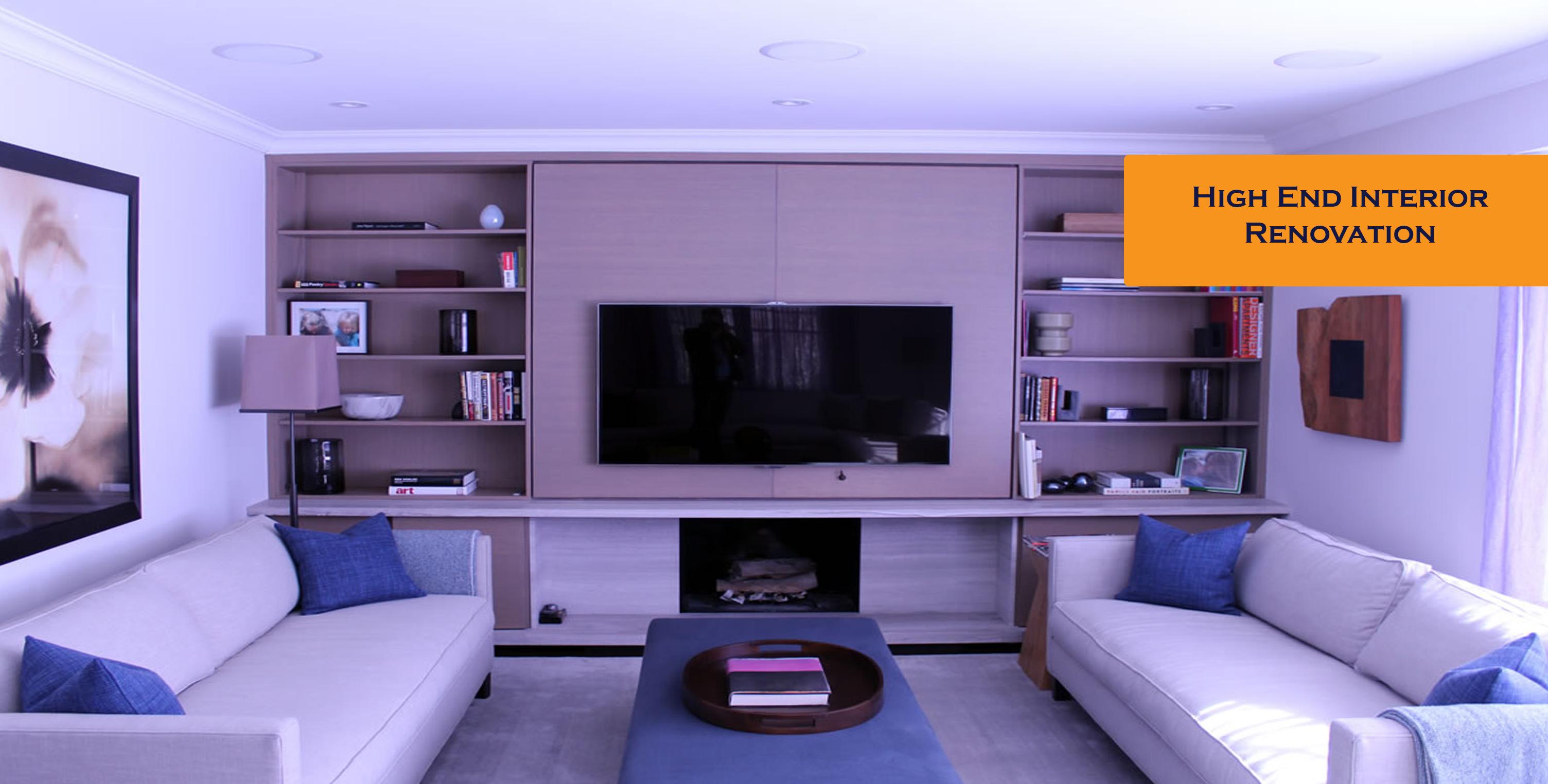 High end interior renovation domain design inc for High end interior design